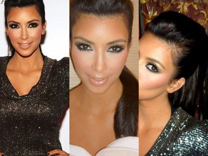 kim kardashian makeup tips. Kim#39;s signature look
