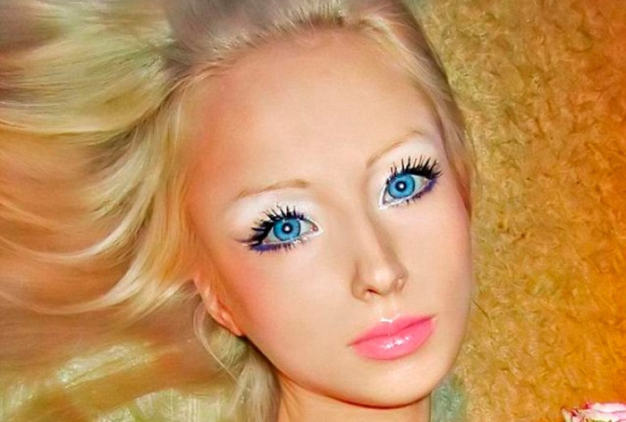 The real-life Russian Barbie doll