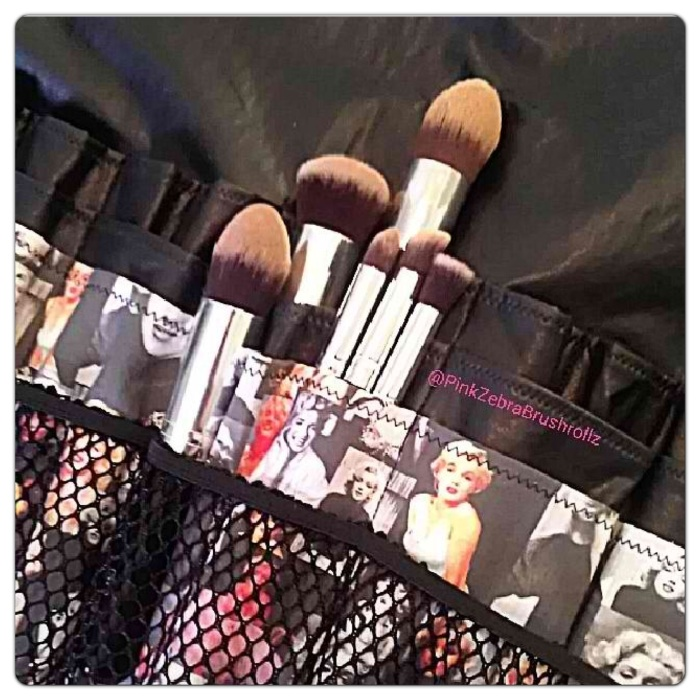 Silver Kabuki brush set from RC Cosmetics